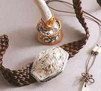 软陶diy仿骨做旧工艺品的手工教程