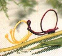 可爱的中国结小蜗牛的编法