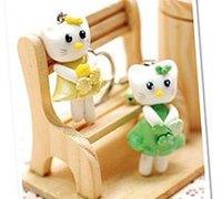 可爱的Hello Kitty娃娃的软陶手工制作图解