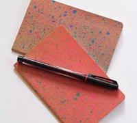 文艺范日记本简单喷绘 记录旅行中的美丽