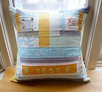 拼布抱枕手工制作 实用的拼布抱枕花样(1)
