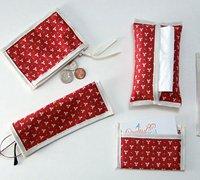 零钱包、名片夹系列布艺包包手工制作图解