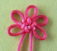 团锦结的打法 花瓣结编织图解