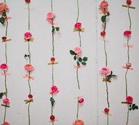 亲手布置一款浪漫美丽的玫瑰花墙