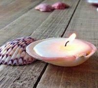 精美的贝壳蜡烛杯 帮你营造浪漫气息