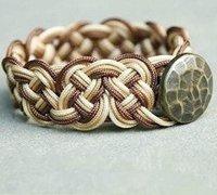 一款复古的漂亮手链手工编织图解