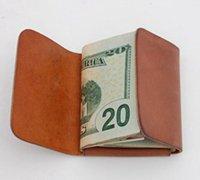 极为简洁的创意手工牛皮钱包制作教程