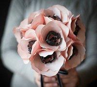 美丽的海葵花diy图解 纸花制作手工教程
