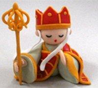 执着的唐僧软陶制作 《西游记》玩偶软陶diy教程