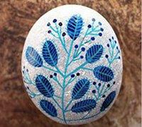 鹅卵石彩绘图片欣赏 鹅卵石彩绘创意