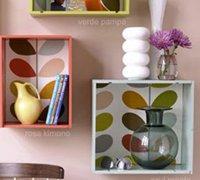 红酒木箱创意DIY 改造多彩的墙壁置物架
