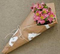 浪漫,情感旅行中唯一的行李 花束包装DIY教程