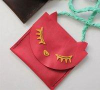两款可爱的简易儿童手工皮革包制作方法