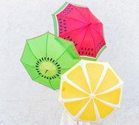 水果图案雨伞彩绘教程