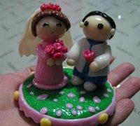 结婚情侣娃娃软陶人偶制作教程