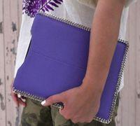 时尚新潮的iPad皮革包的制作图解
