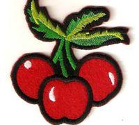 贴布绣怎么缝 樱桃图案贴布绣教程