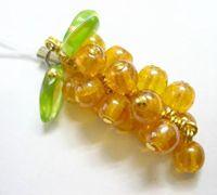 水晶葡萄挂件的串珠方法 串珠葡萄编法图解