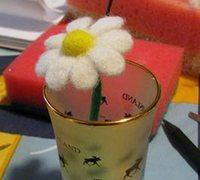 如何制作羊毛毡 羊毛毡花朵制作方法