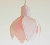 布艺花瓣灯罩制作 手工灯罩制作图解