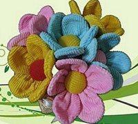 用布制作的美丽花朵 布艺花专题
