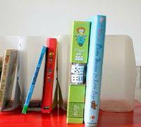 塑料瓶旧物改造diy实用书架