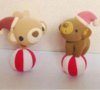 可爱的马戏团小熊手工软陶制作图解