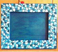 硬纸板相框制作 利用鸡蛋壳自制相框的制作方法
