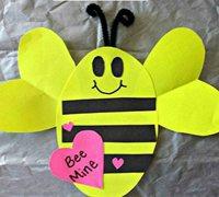 小蜜蜂折纸 手工制作简单可爱的折纸小蜜蜂
