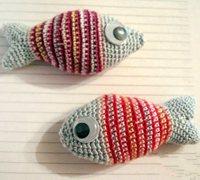 钩针编织教程 用毛线钩针编织富贵鲤鱼
