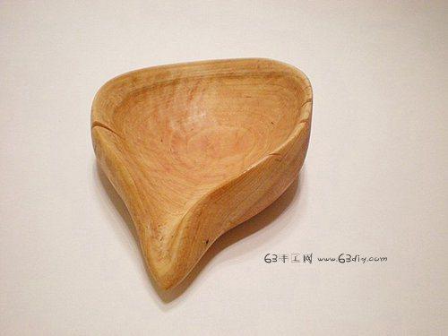 木制小工艺品 木头手工制作艺术水瓢