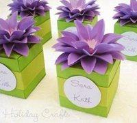 立体简单花朵折纸 手工折纸花朵图解