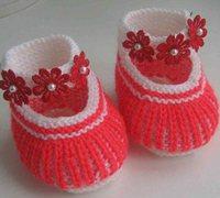 漂亮的宝宝鞋 婴儿鞋diy手工制作