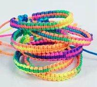 五彩绳手链编法 五彩手绳编织教程