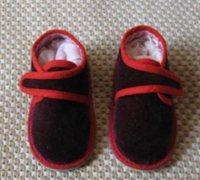 宝宝手工布鞋鞋样图纸 自制作婴儿学步鞋