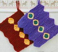 毛线编织水杯套 漂亮的保温杯套编织图解
