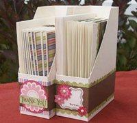 硬纸板自制简易书架 自制文件架收纳架的方法