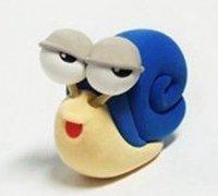 软陶小蜗牛diy手工制作图解