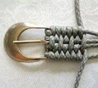 用绳子手工编织腰带的方法 腰带编织方法图解