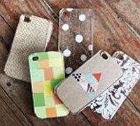 创意手机壳DIY教程 个性iphone手机壳制作图解