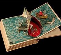 书本的美丽故事 追梦者的书本创意