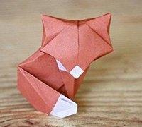 小狐狸折纸教程 手工折纸狐狸的方法