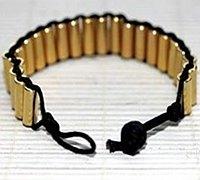 金属管珠串珠手镯编织方法