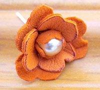 简单清新的皮革花朵制作教程