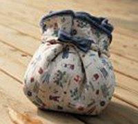 包裹样式的手工布包制作图解