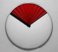 折扇的创意设计 创意折扇时钟和日历