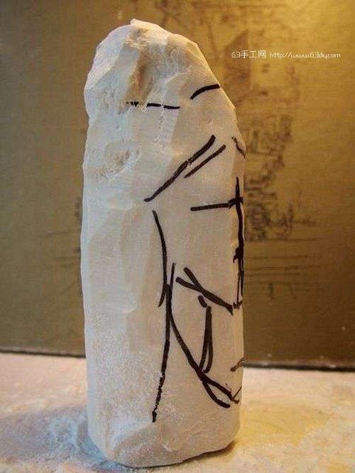 木雕观音的雕刻开脸教程