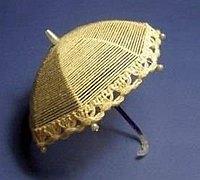 毛线和铁丝diy精致可爱的小雨伞