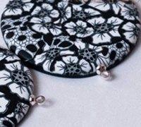 精美的软陶饰品制作图解 软陶花制作教程