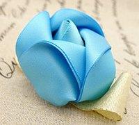 手工丝带花花骨朵制作方法
